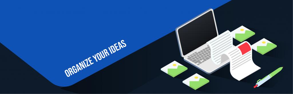 digital magazine layout: organize your ideas