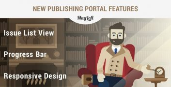 New MagLoft Publishing Portal Feature Graphic