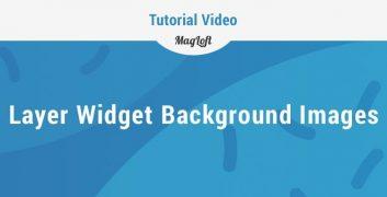MagLoft Layer Widget Backgrounds
