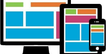 Responsive Cover Page